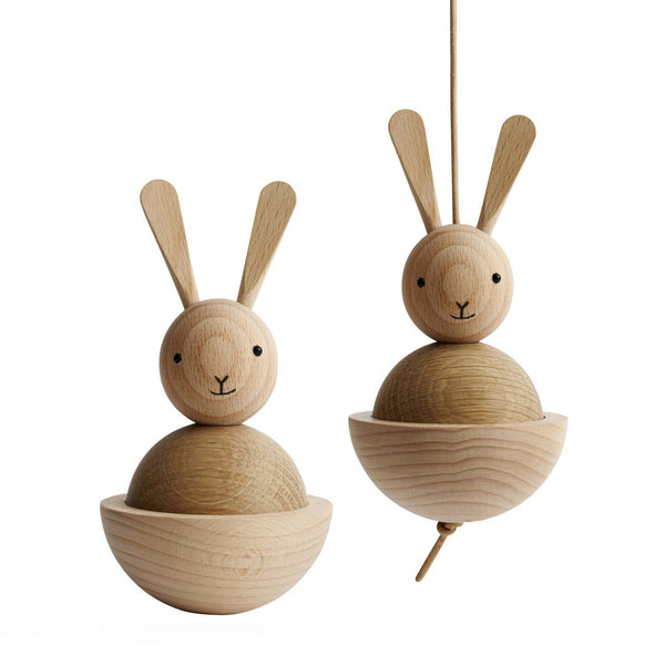 OYOY Wooden Rabbit - Scandibørn