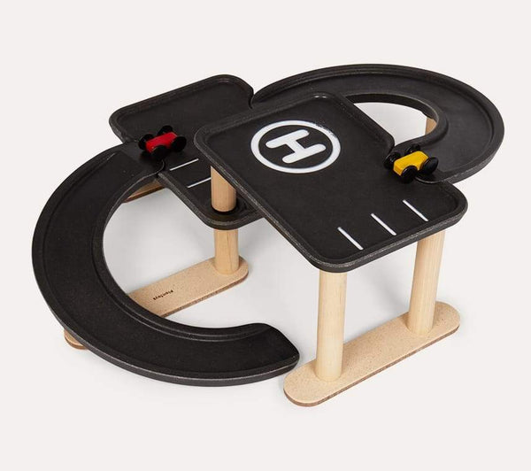 Plan Toys Race n Play Parking Garage - Scandibørn