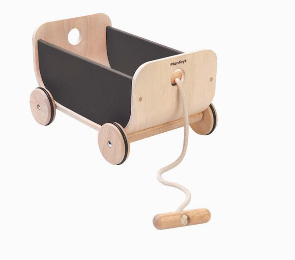 Plan Toys Wagon in Black - Scandibørn