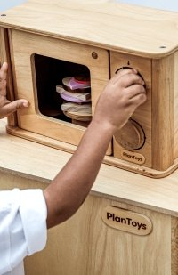 Plan Toys Wooden Microwave - Scandibørn