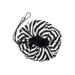 Play and Go Toy Bag - Black Stripes