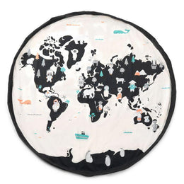 Play and Go Toy Bag - World Map - Scandibørn
