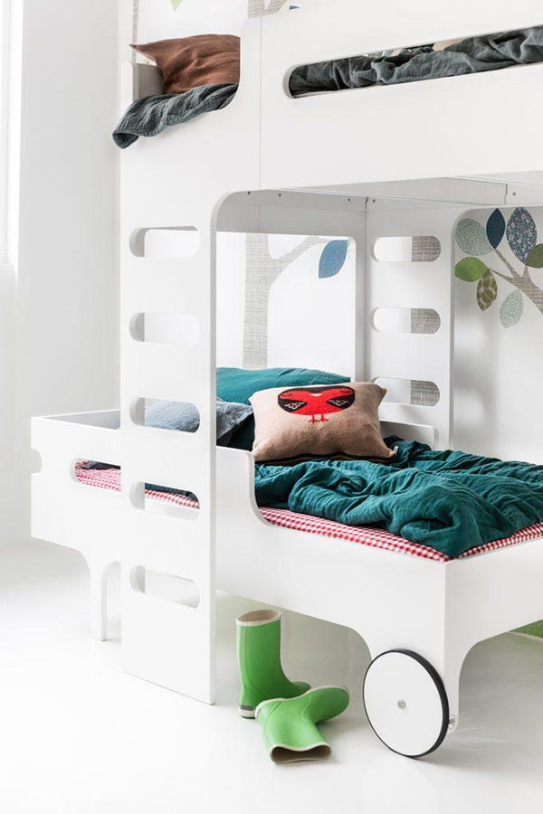 Rafa Kids F&R Bed Set - White (2 Beds) - Scandibørn