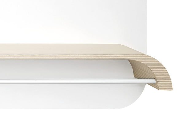 Rafa Kids - L SHELF in Natural & White - Scandibørn