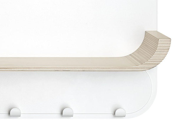 Rafa Kids - M SHELF in Natural & White - Scandibørn