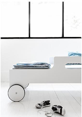 Rafa Kids R Designed Toddler Bed - White - Scandibørn