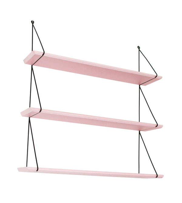 Rose in April Babou 3 Wall Shelf - Light Pink - Scandibørn