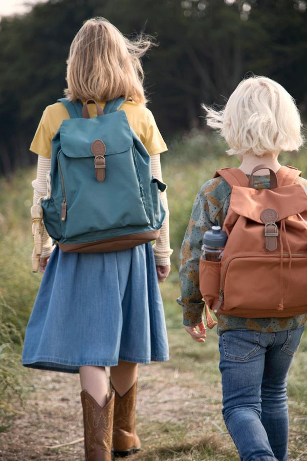 Sebra - Kids Junior Backpack in Sweet Tea Brown - Scandibørn