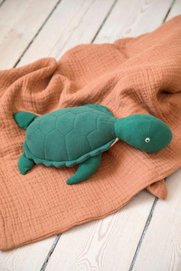 Sebra Soft Toy - Triton the Turtle - Scandibørn