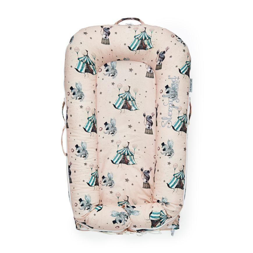 Sleepyhead Deluxe+ Pod Spare Cover in Mrs Mighetto Le Cirque (0-8 months)
