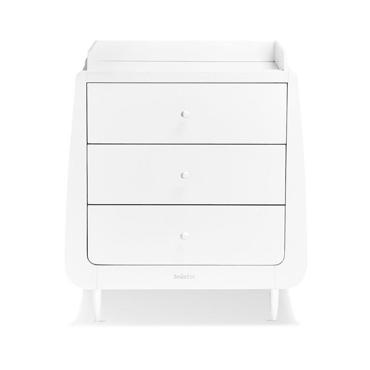 Snuzkot Changing Table White
