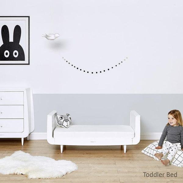 SnuzKot Cot Bed White - Scandibørn