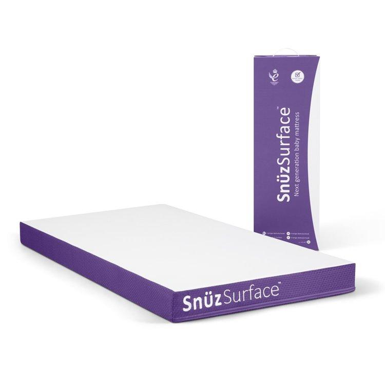SnuzSurface Adaptable Cot Bed Mattress for SnuzKot (68x117cm)