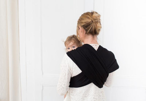 Studio Romeo Baby Carrier - Black - Scandibørn