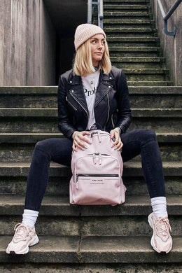 Tiba and Marl Elwood Backpack in Pale Pink - Scandibørn