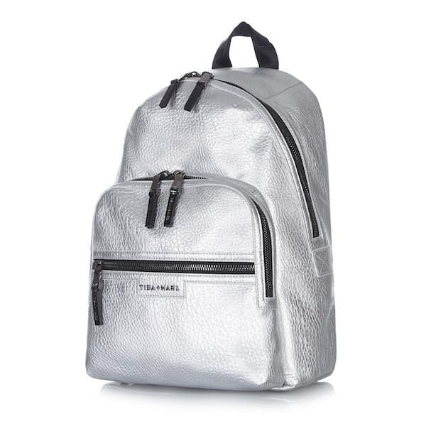 Tiba and Marl Elwood Backpack in silver