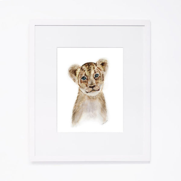 Tiny Toes Baby Lion Portrait - Scandibørn