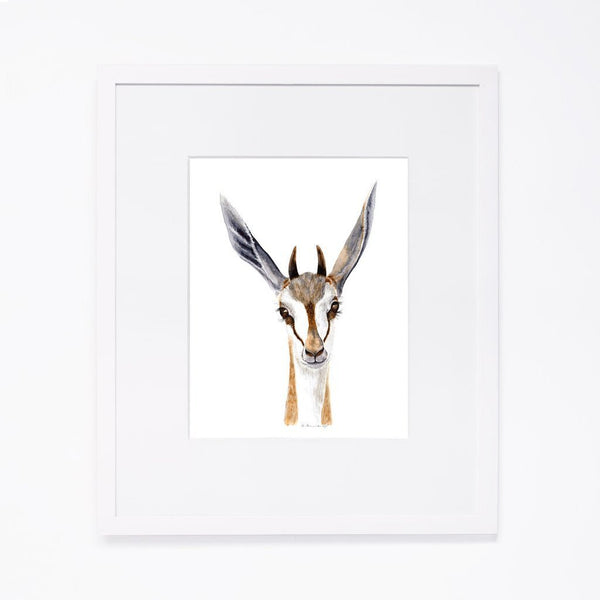 Tiny Toes Baby Springbok Portrait - Scandibørn