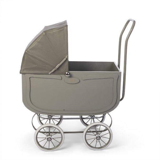 Dolls Pram in Vintage Grey
