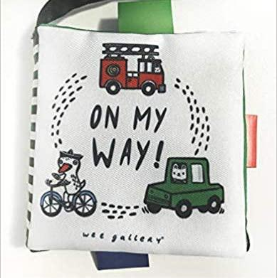 Wee Gallery Buggy Book - On My Way