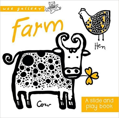 Wee Gallery Farm Slide and Play Book - Scandibørn