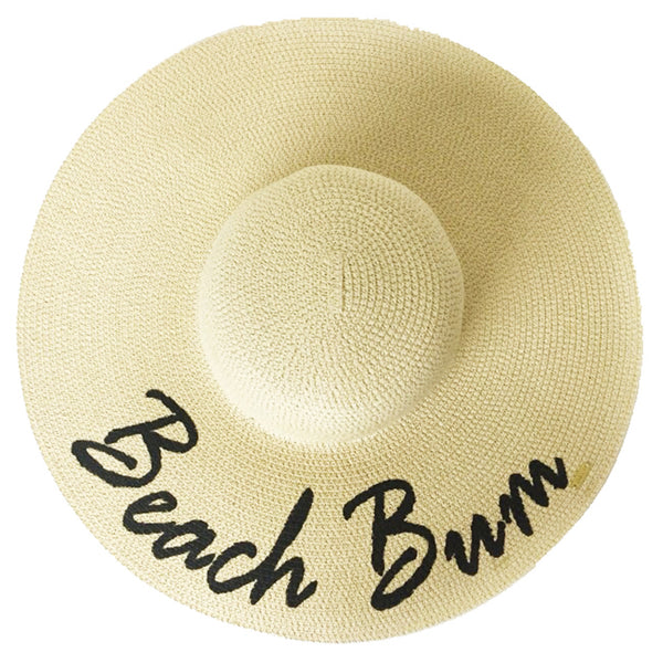 Beach Bum Hat - Natural | Abaco Beach Co