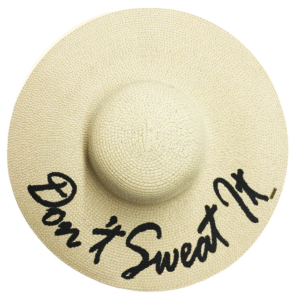Don't Sweat It Hat - Natural | Abaco Beach Co
