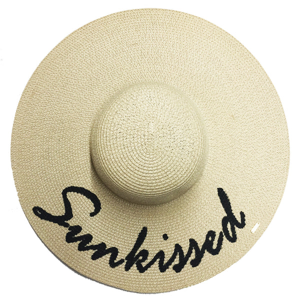 Sunkissed Hat - Natural | Abaco Beach Co