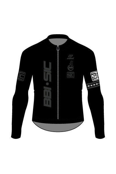 Team BBI-SIC - National Champ Band on Sleeve - Men's Malibu Lightweight Long Sleeve Jersey - #858