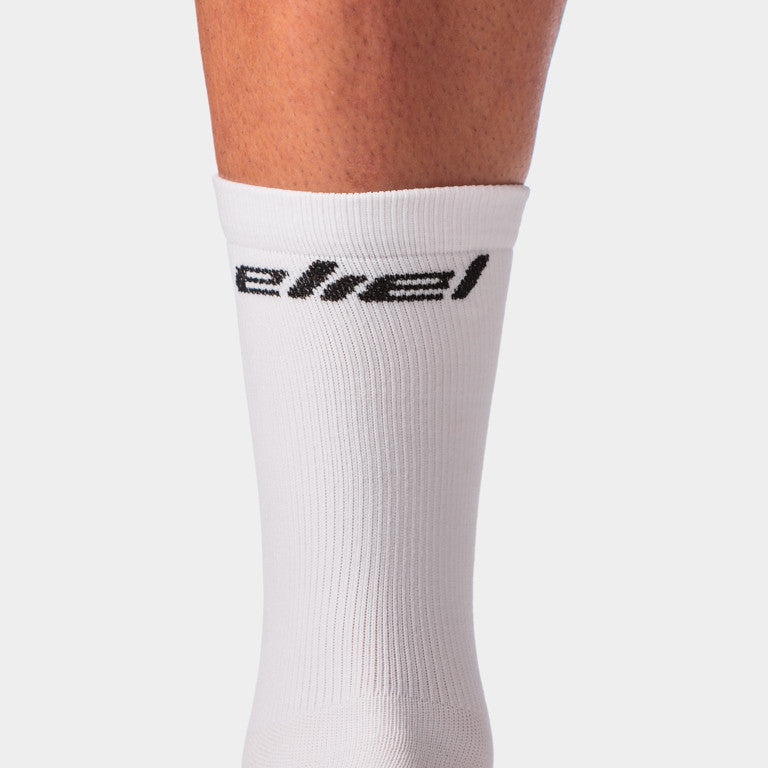 Eliel Signature Socks - White