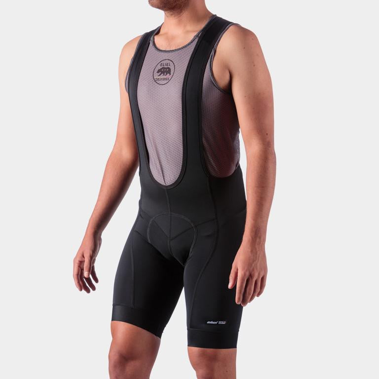Men's Laguna Seca Bib Shorts - Classic Black - Workday Inc. #AEWO819-1