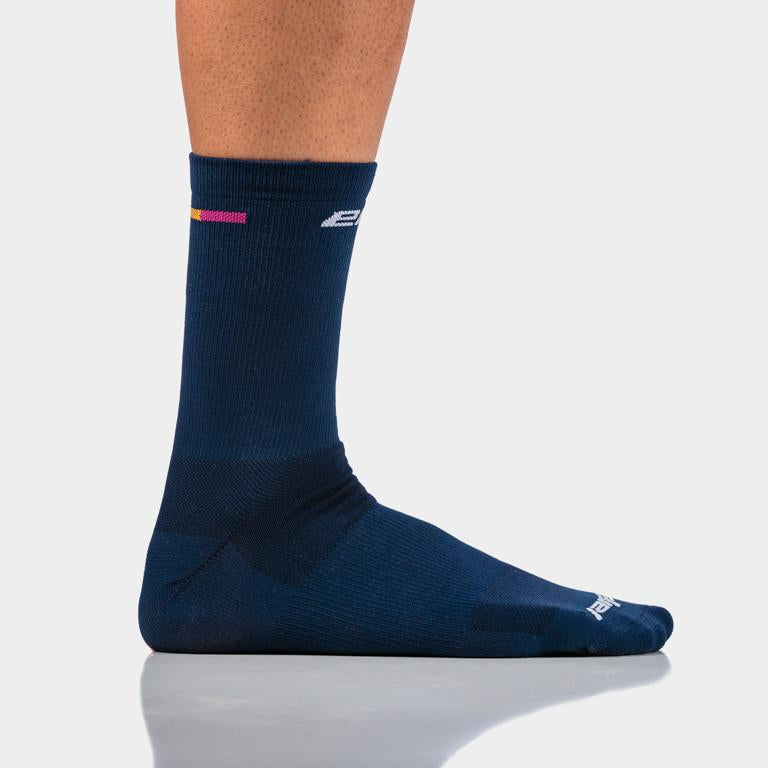 Eliel Signature Socks -Navy   #1256