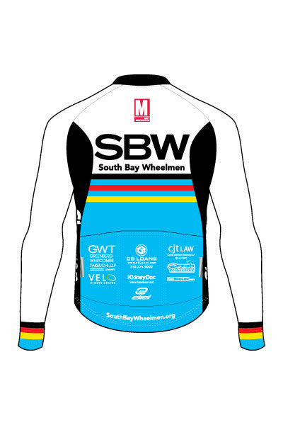 Southbay Wheelmen - Women's Malibu Lightweight Long Sleeve Jersey - #1021