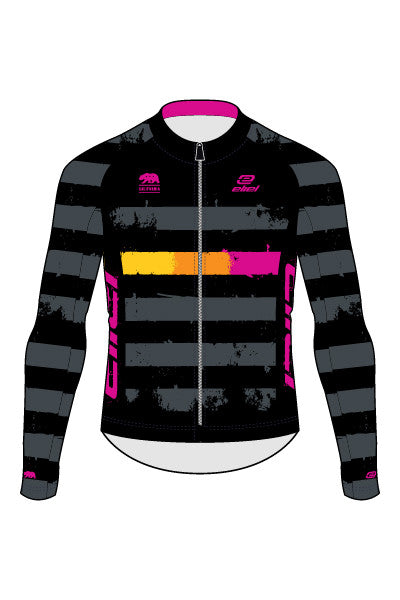 2016 Style Eliel Factory Team - Malibu Long Sleeve Jersey - #ST
