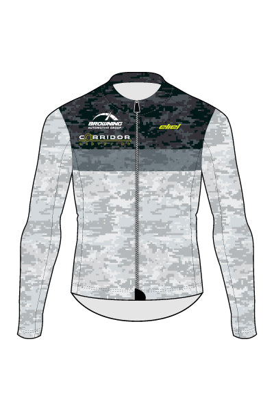 Corridor Recycling Long Sleeve - Camo Design - Men's Lightweight Long Sleeve Jersey - #1286