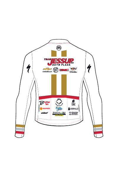 Jessup Auto - WHITE - Men's Ventura Long Sleeve Jersey - #AEJE818-1