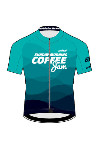 Sunday Morning Coffee Jam - Men's Rincon Jersey - #AESU818-1