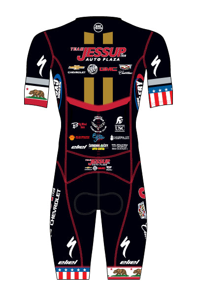 Jessup Auto - CA STATE & USA CHAMP ONLY - Men's Mavericks Short Sleeve Aero Speedsuit - #AEJE818-1