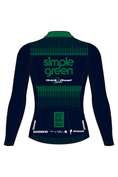 Simple Green - Urban - Women's Ventura Long Sleeve Jersey (T1) - #2ESI319-1