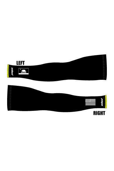 Corridor Recycling - Black Design - Arm Warmers - #1286