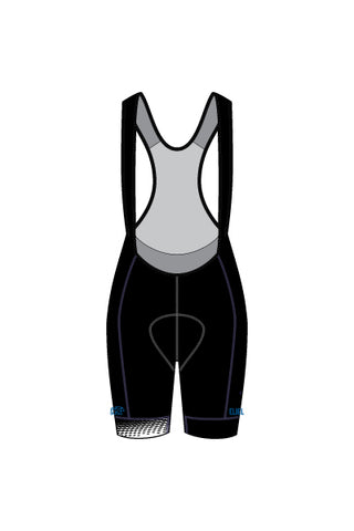 Velo Worthy - Women's Laguna Seca Bib Shorts - #EVE119-1