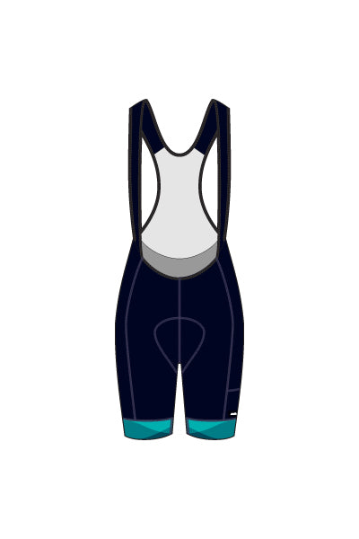 Sunday Morning Coffee Jam - Women's Laguna Seca Bib Shorts - #AESU818-1