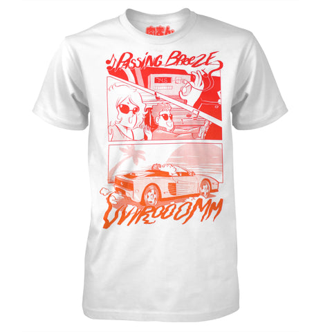 Passing Breeze - by Meat Bun - Retro Racing Arcade T-Shirt