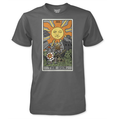 The Sun - by Meat Bun - Solaire Tarot Card T-Shirt
