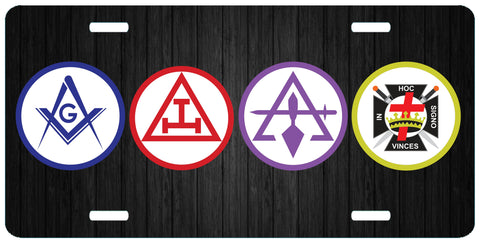 Shop for York Rite License Plates at 357 designs: knights templar