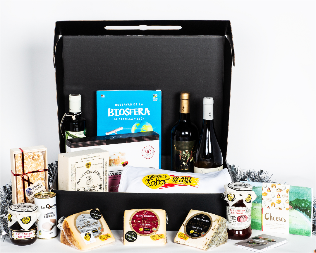 Castilla Y Leon  Christmas Gift Box (Cheese Edition)