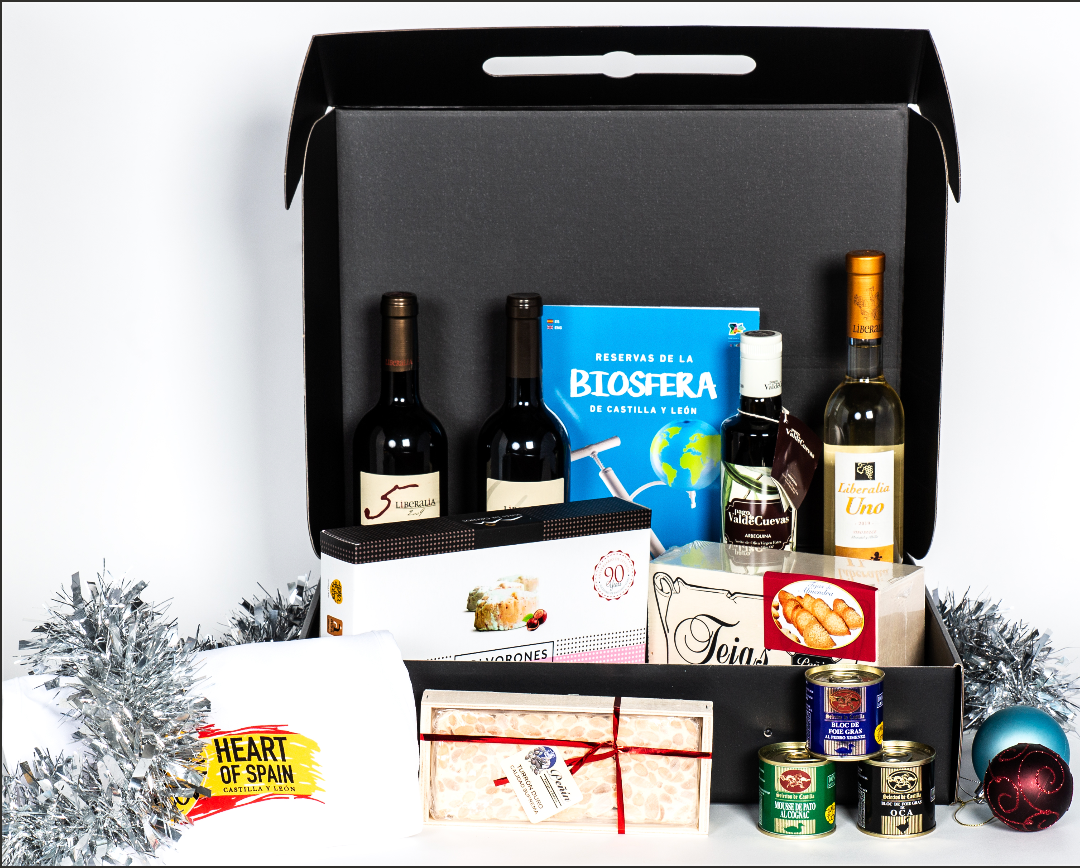 Castilla Y Leon Christmas Hamper ( Foie gras Edition) (  out of stock)