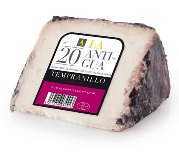 AGED SHEEP CHEESE AL TEMPRANILLO (APROX. 365-400 GR)