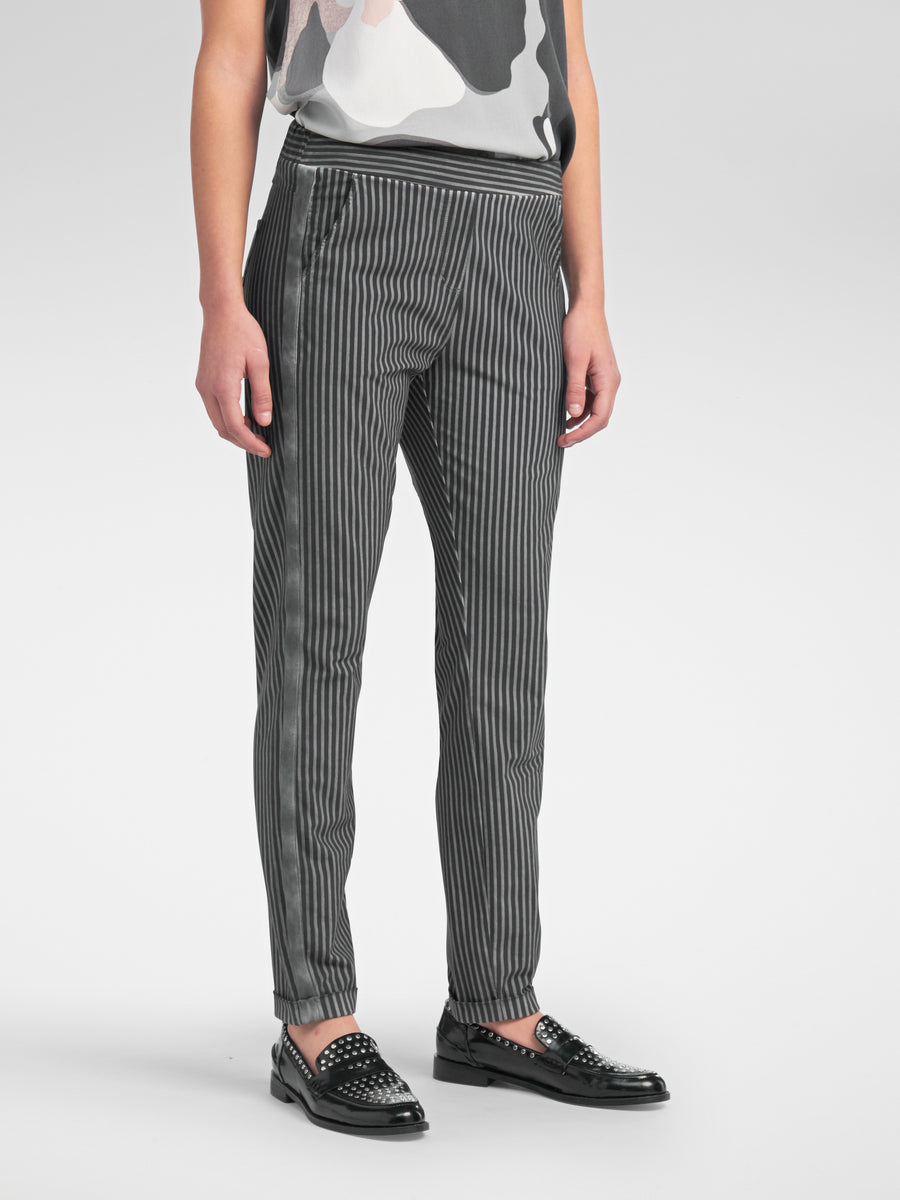 Striped Trouser Style Pant