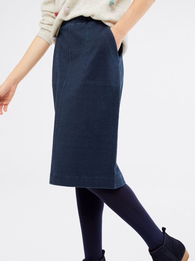Backwater Denim Skirt